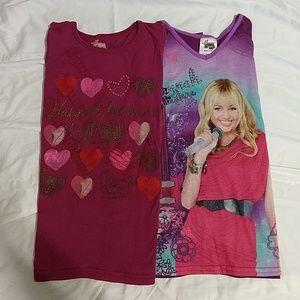 Hannah Montana Shirts & Tops - HANNAH MONTANA Miley Cyrus Tops